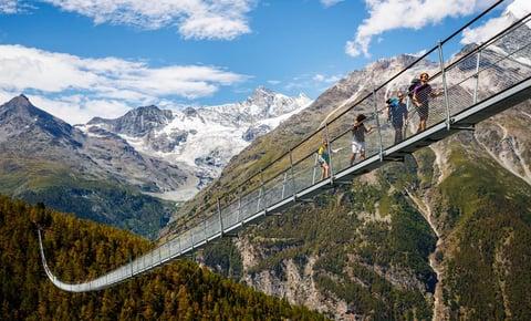 World's Longest Suspension Bridge
