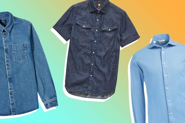 Dmarge best-denim-shirts-men Featured Image