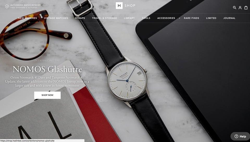 Online Watch Shops