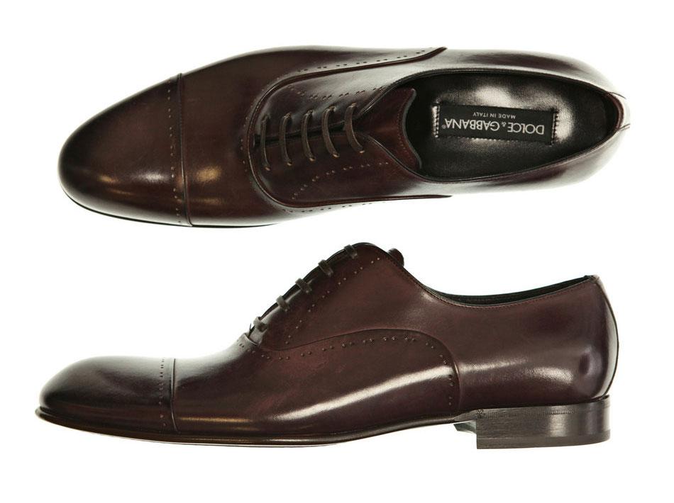 dolce gabbana stitch dress shoes