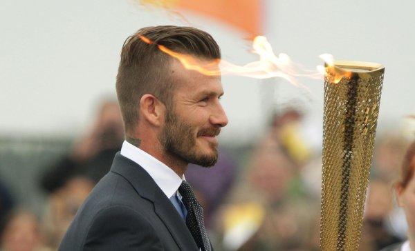 2014 David Beckham Hairstyles