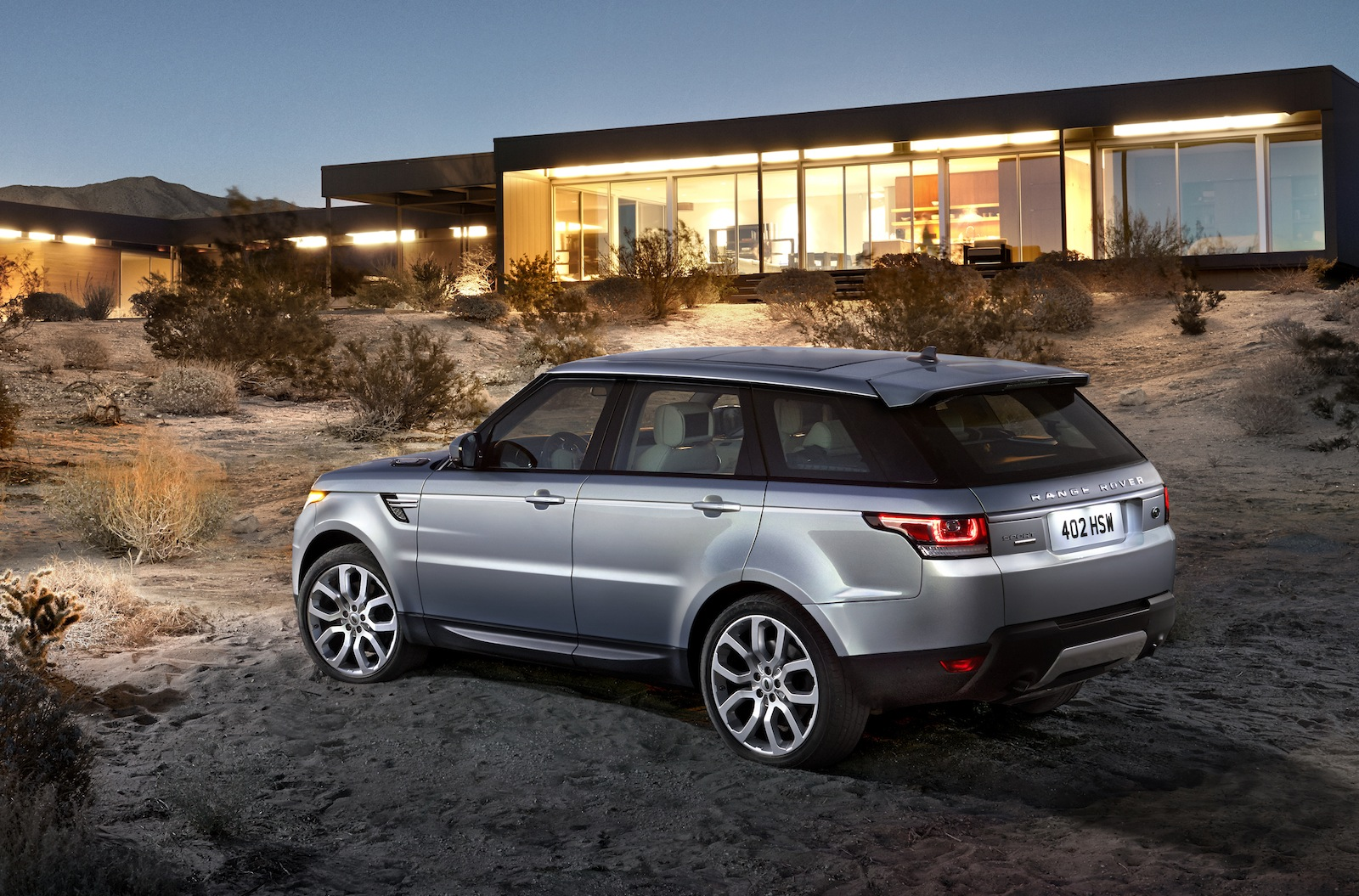 Revealed: 2013 Range Rover Sport