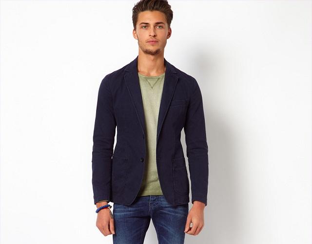 Men's Blazer #1 – United Colors Of Benetton Worker Blazer