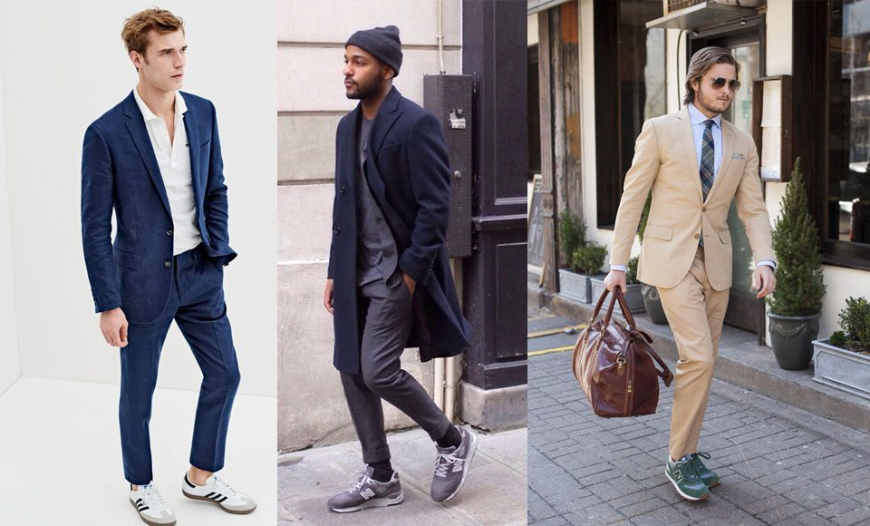 How To Wear Sneakers With A Suit - Modern Men's Guide