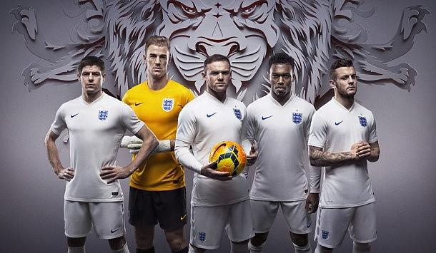 England Home and Away Kits - 11