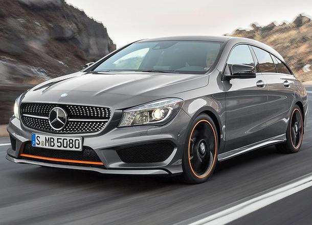Mercedes-Benz Unveil The CLA Shooting Brake