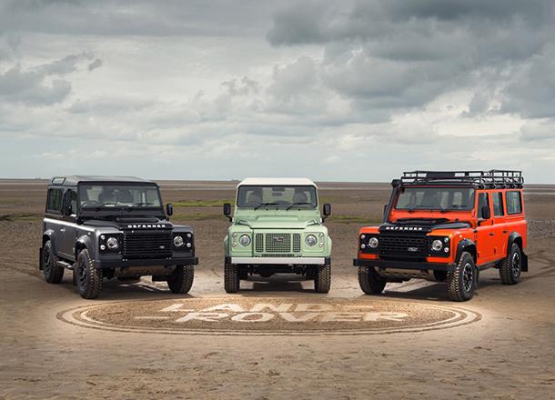 Land Rover Release Defender Celebration Series