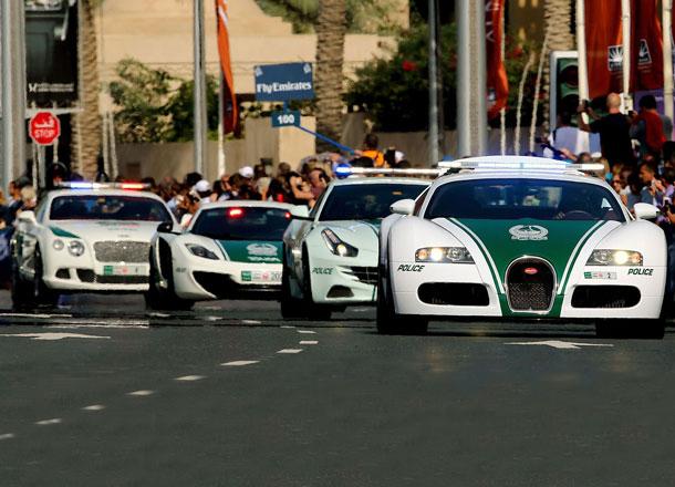 Riding With Dubai's Multimillion Dollar Super Patrol Cars