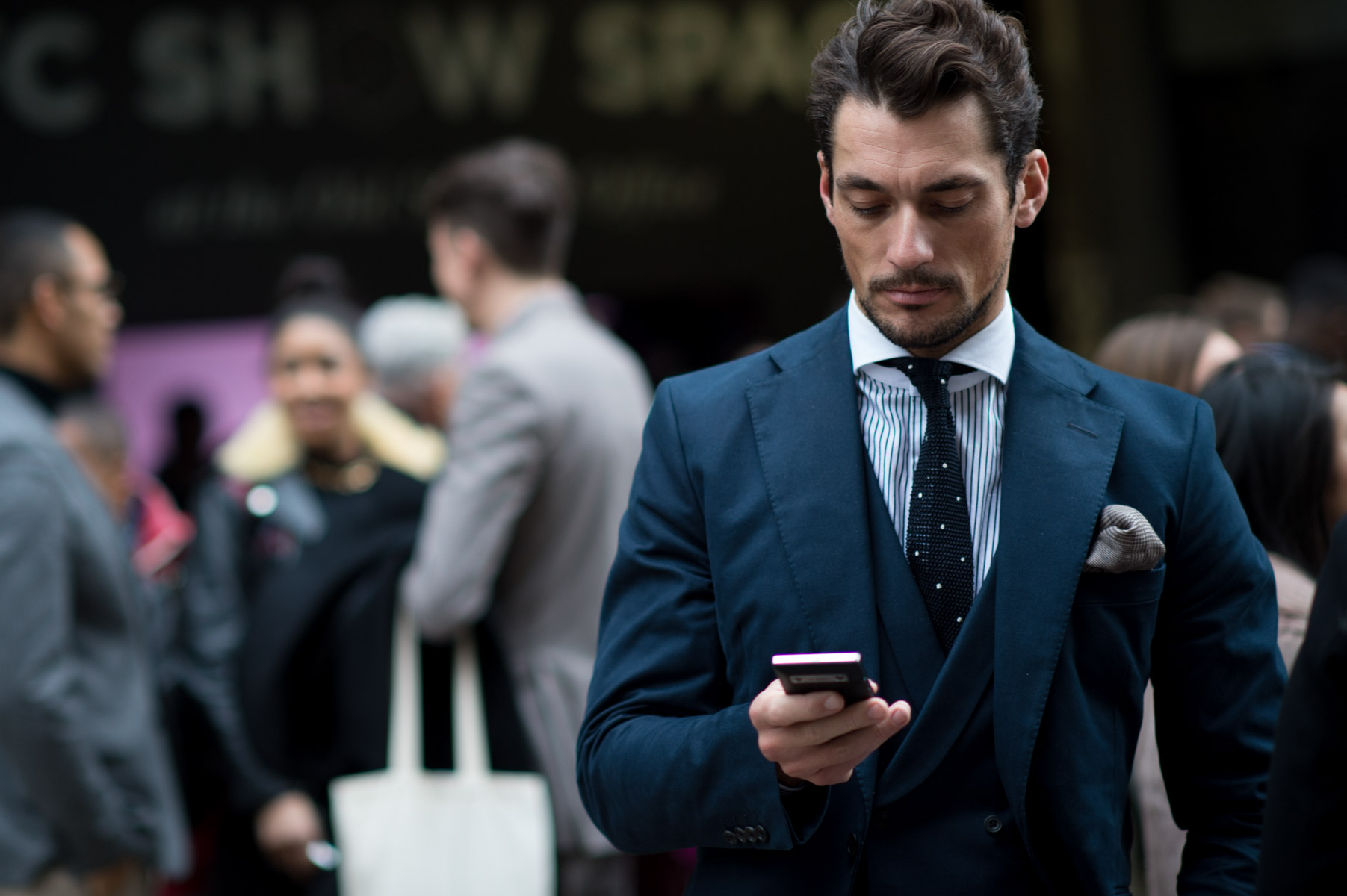 How To Get David Gandy's Style; The Best Dressed Man In London