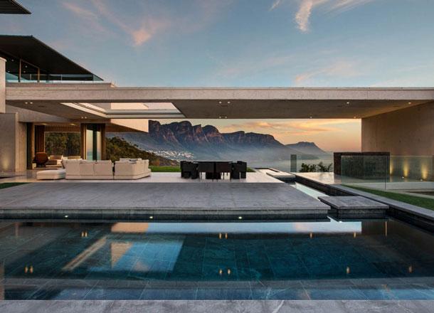 SAOTA x Studio Parkington Cliffside Residence