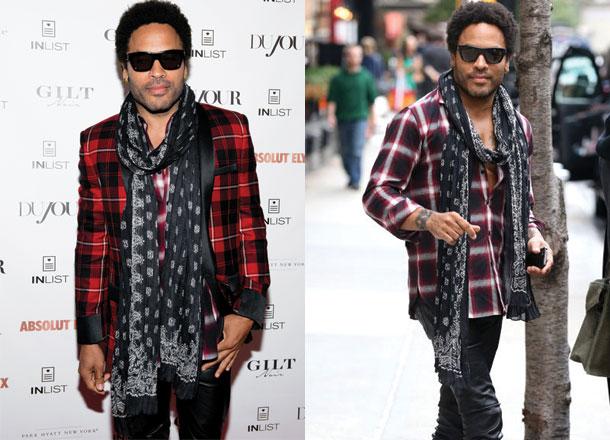 Lenny Kravitz style