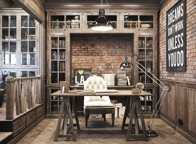 Cool Home Offices Ideas That Will Make You Love Work Everyday