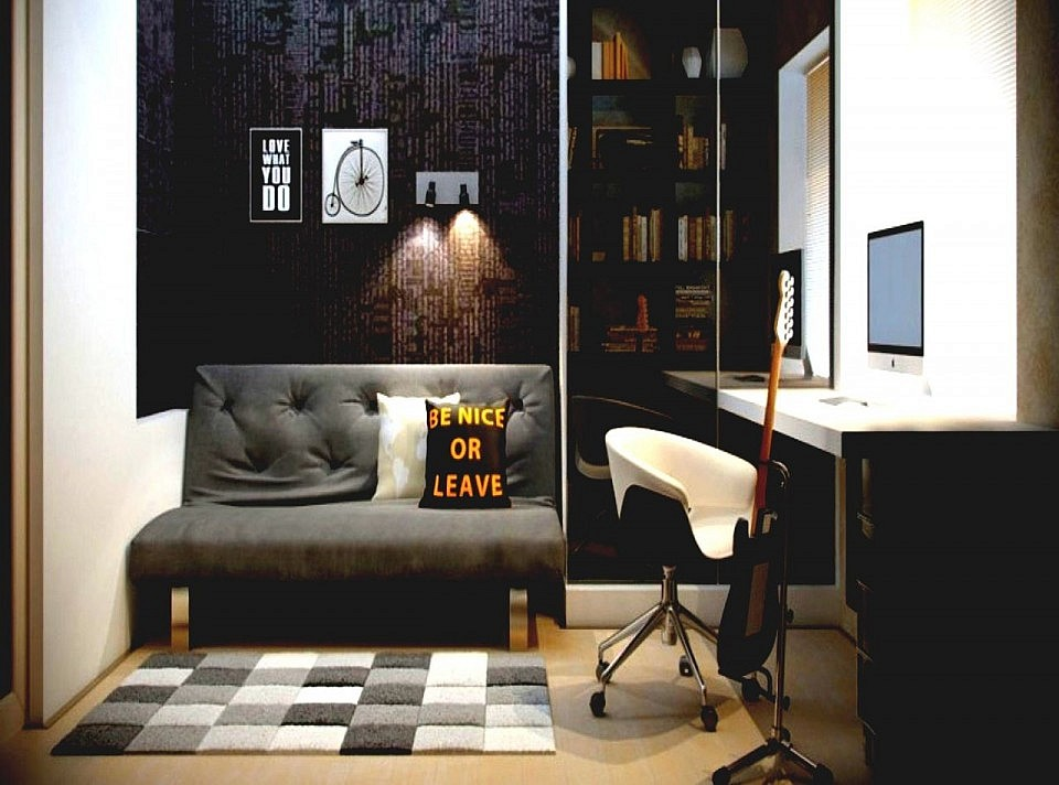 20 Inspiring Home Office Design Ideas For Small Spaces: 20 Amazing & Masculine Home Office Ideas