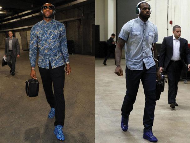 LeBron James Style