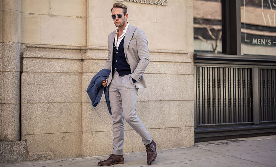 Waistcoats Are Still The Hottest Suiting Trend For Men Here S How To Wear It,Champagne Silk Slip Wedding Dress