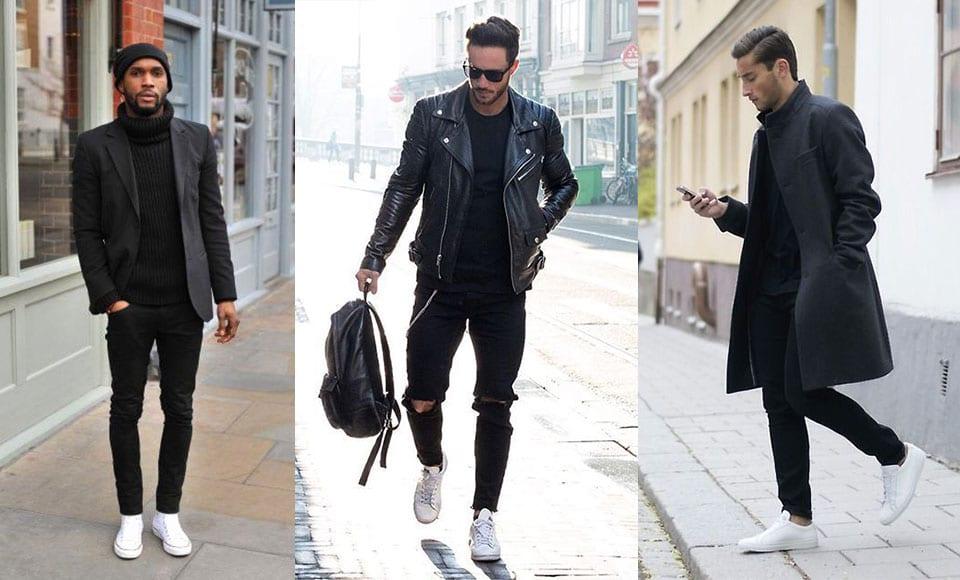 How To Wear White Sneakers - Modern Men