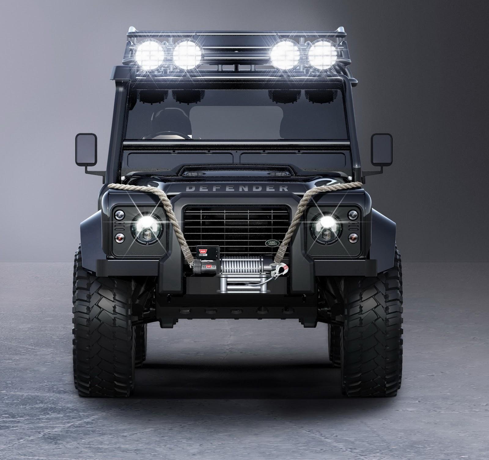 Meet Bond's Modded Land Rover Defender From 'Spectre