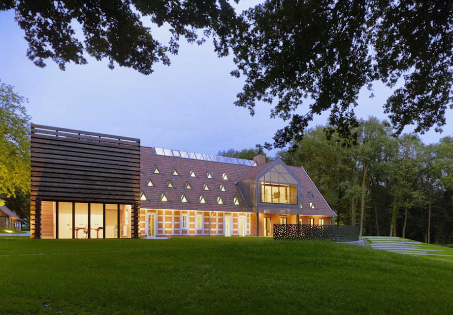 Dozens Of Skylights Enlighten Modern Germany Country House