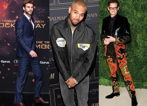 Best Dressed Men Of The Week Feat. Liam Hemsworth & Chris Brown [06.11.15]