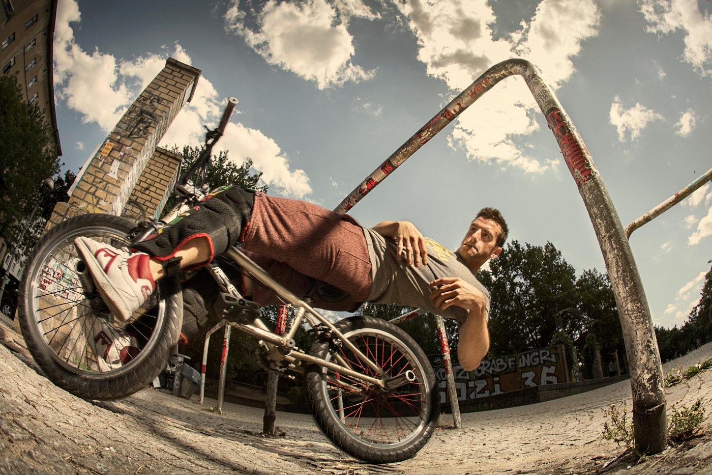 BMX Meets Parkour In Mindblowing Series Of Bike Tricks