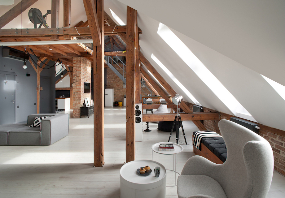 The Attic Loft Of Your Dreams Is In Poland