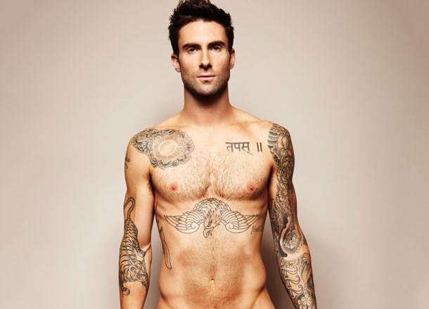 Adam-Levine-Body
