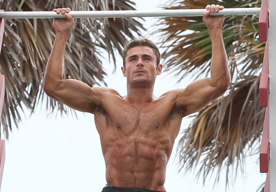 Zac Efrons Workout: How To Get His Baywatch Abs