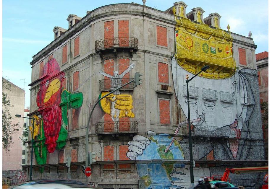Europe's best street art