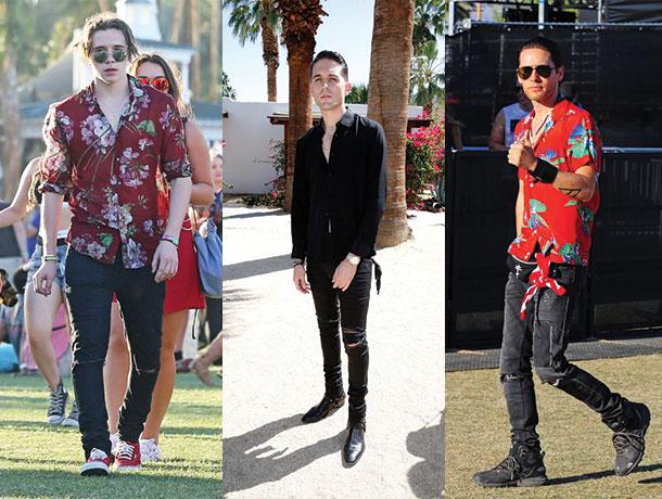 Coachella Street Style 2016 Best Dressed Men