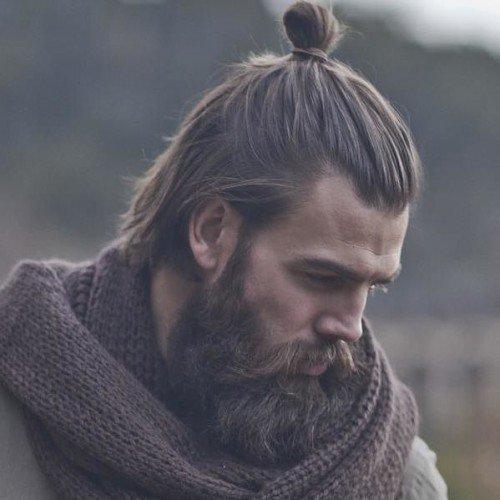 50+ Man Bun Hairstyles / Haircuts, Inspirations & Ideas