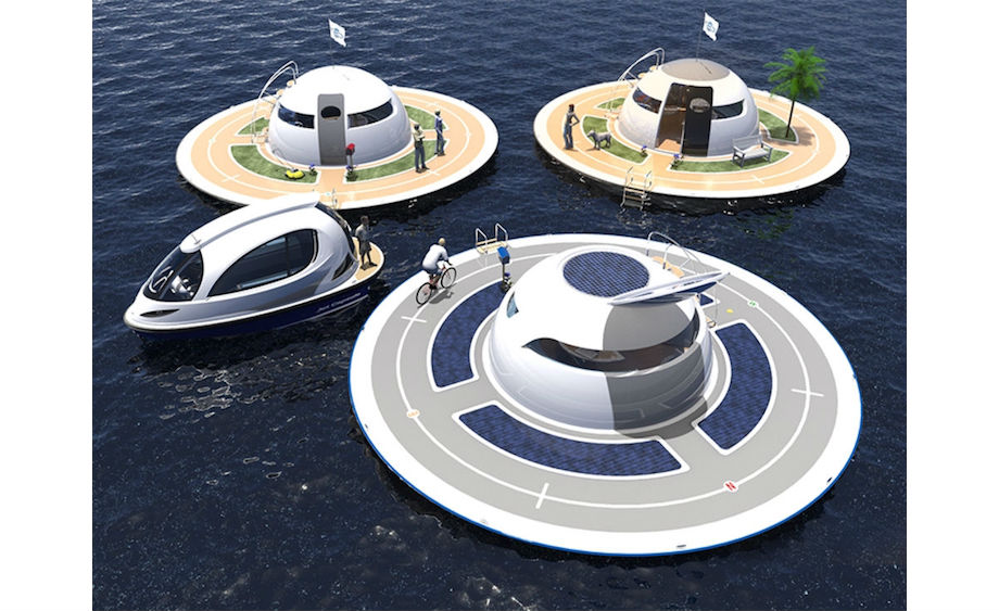 Off-The-Grid UFO Boat Is Out Of This World