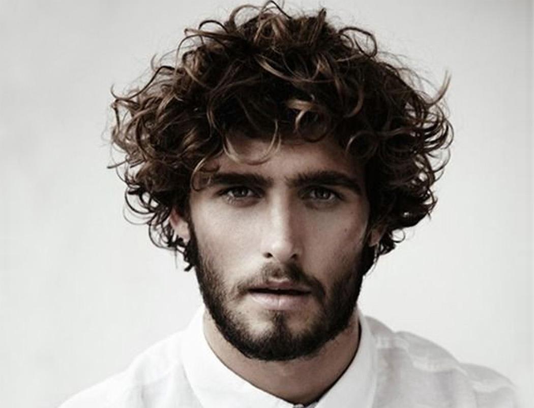 Peachy 55 Men39S Curly Hairstyle Ideas Photos Amp Inspirations Short Hairstyles Gunalazisus