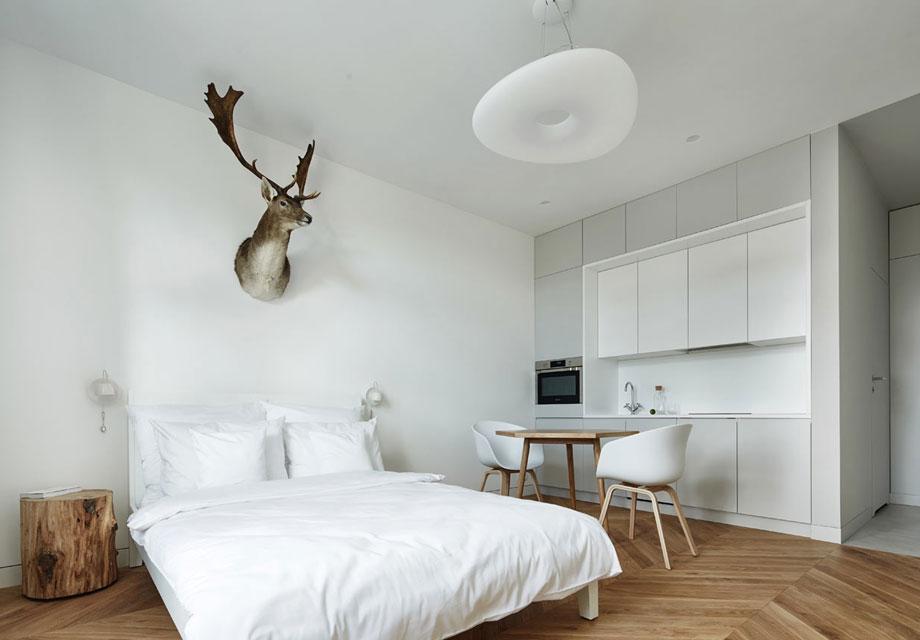 this minimalist polish apartment is a female friendly bachelor pad