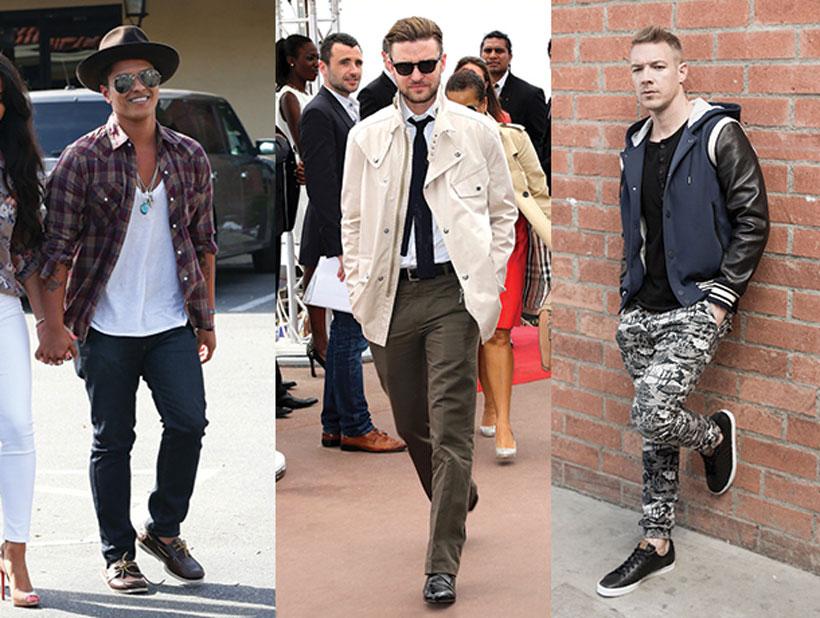 Get The Look For Less: Justin Timberlake, Bruno Mars & Diplo