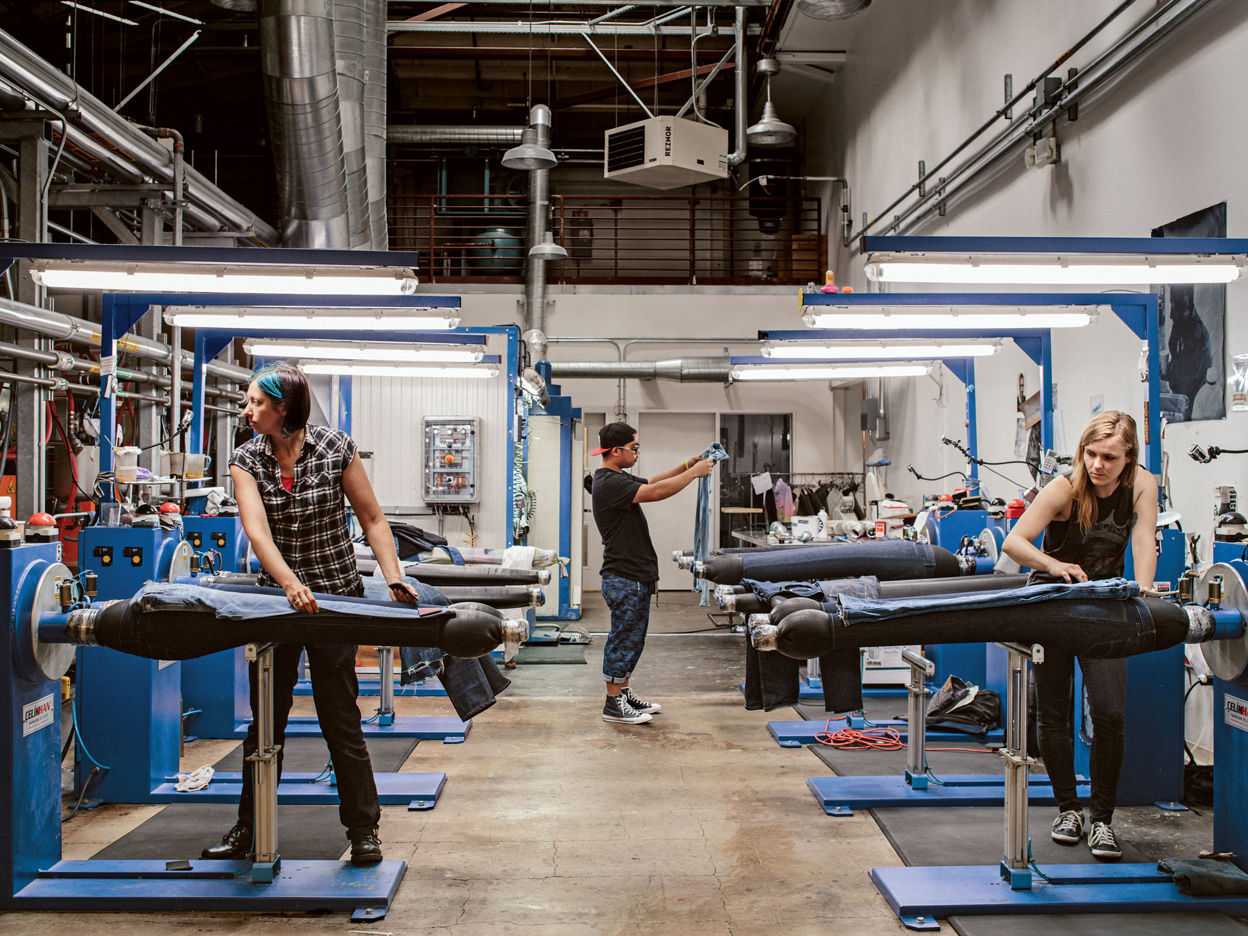 Weird Methods Used To Make Brand New Jeans Look Old