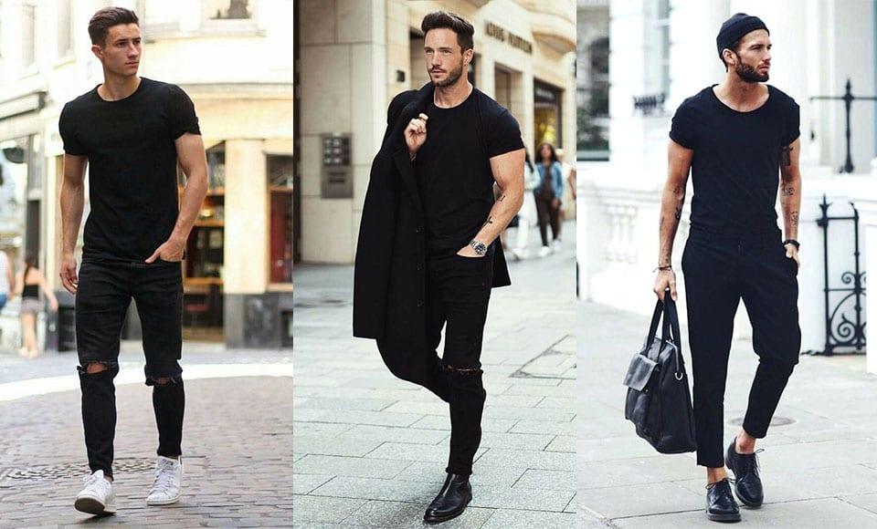 How To Wear All Black - Modern Men's Guide