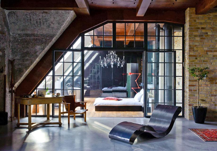 10 Masculine Loft Bedrooms Ideas Inspiration
