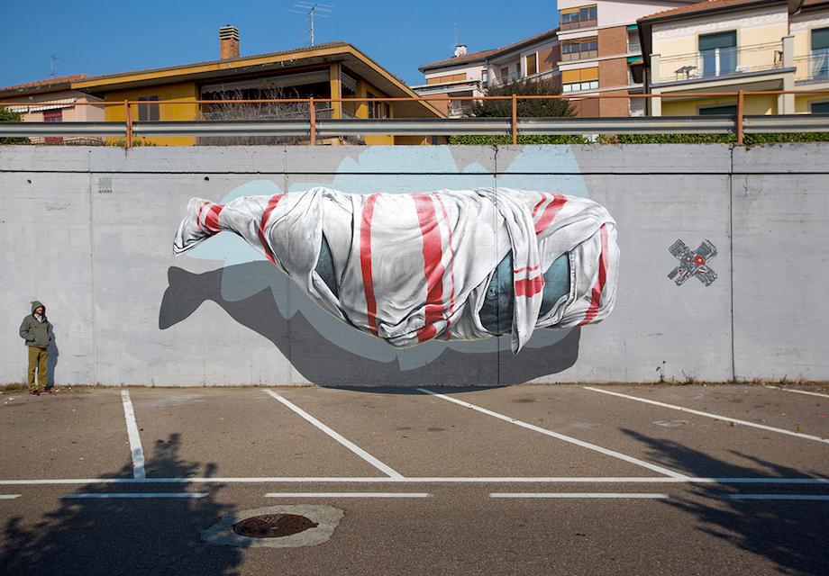 13 Mind-Bending 3D Street Art Murals That Pop Off The Wall