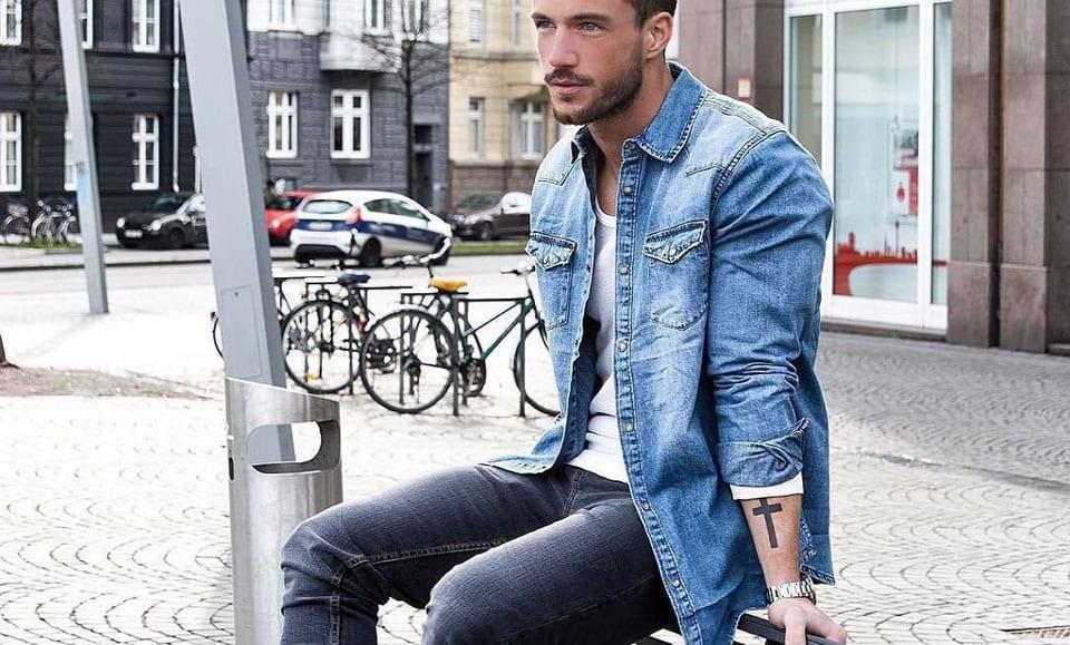 f78c14b7e8cf How To Wear Double Denim - A Modern Men s Guide