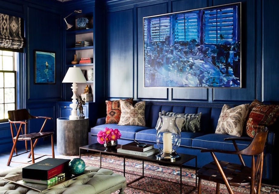 41 Examples Of Eye Popping Blue Interior Design