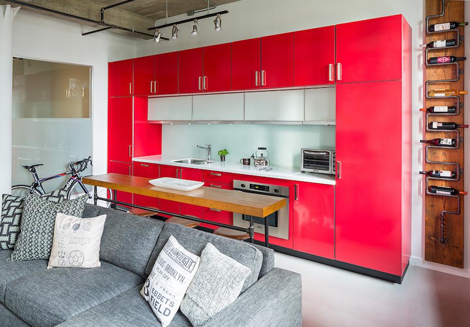 Red Interior Design