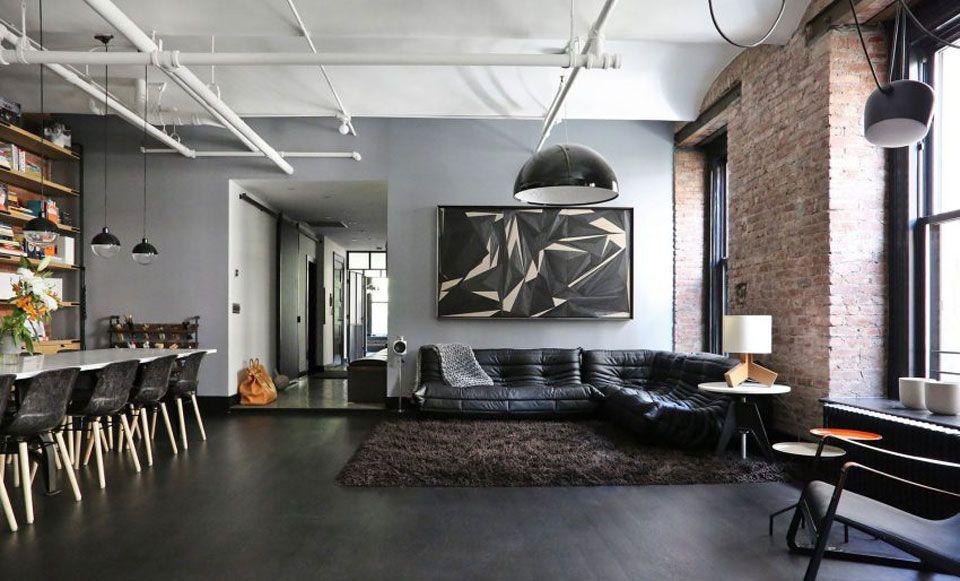 Union Studio Turns A Factory Into A Designer New York Loft