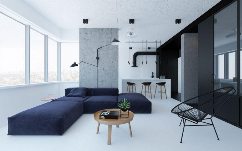 Emil Dervish Minimalist Apartment