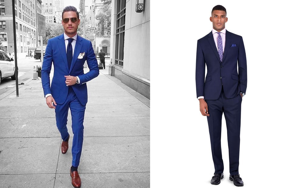 51 Ways To Wear A Blue Suit - The