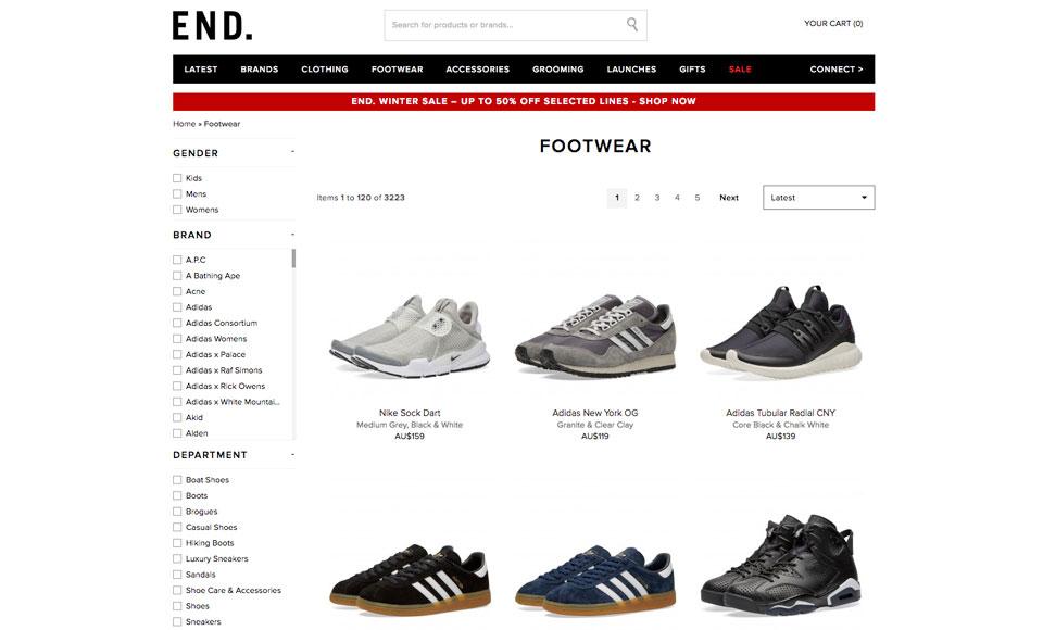 Best Online Sneaker Stores [2020 Edition]