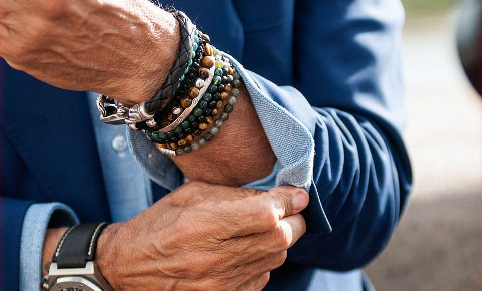How To Wear A Bracelet Modern Men S Guide