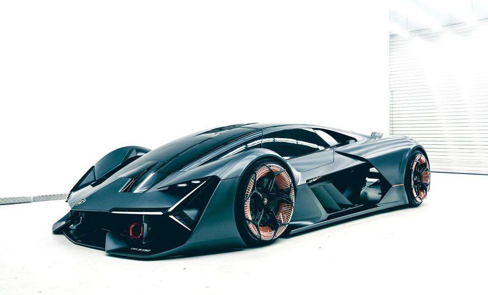 Lamborghini's First Electric Sports Car Concept Looks Insane