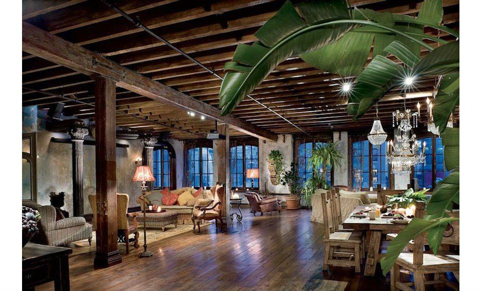 Step Inside Gerard Butler's Epic Bohemian Old-World Loft