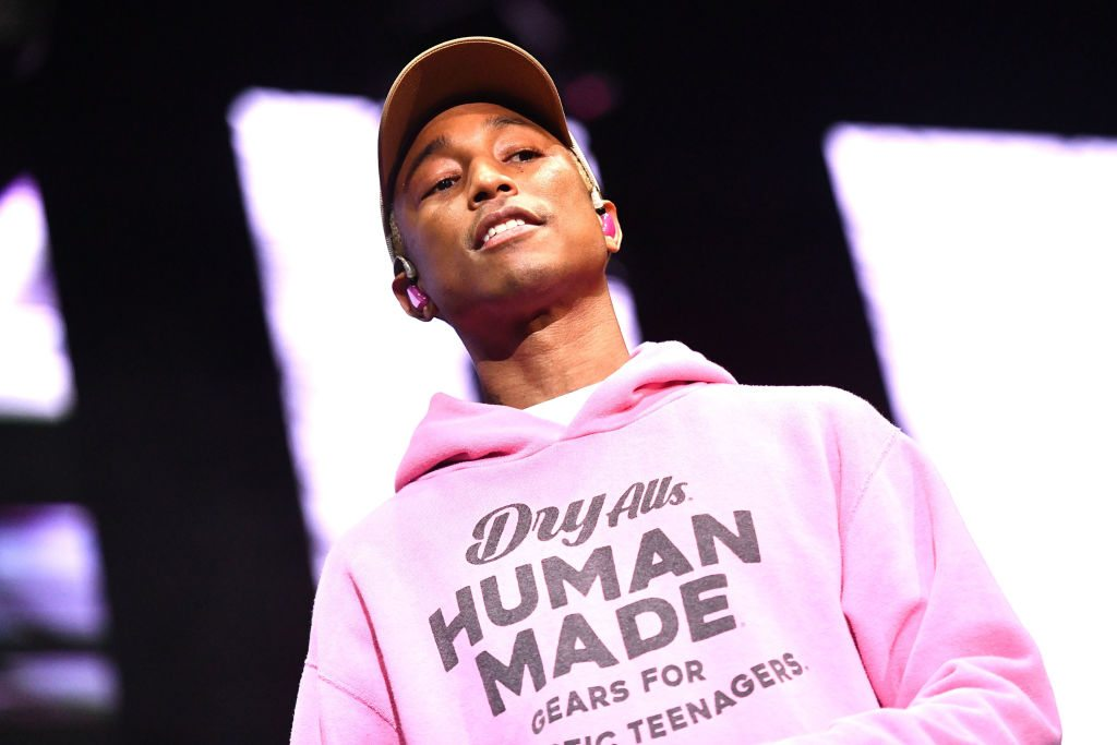 Pharrell Williams Has Found A Way To Wear Gym Shorts With ...