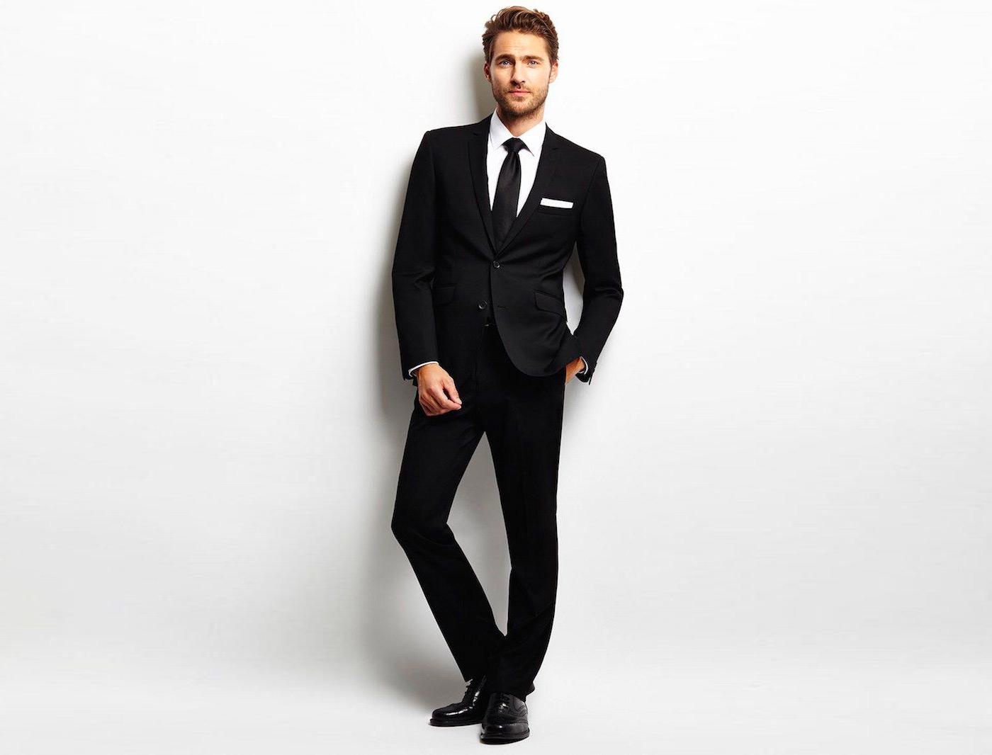 Color suit and combinations shirt Blue Suit